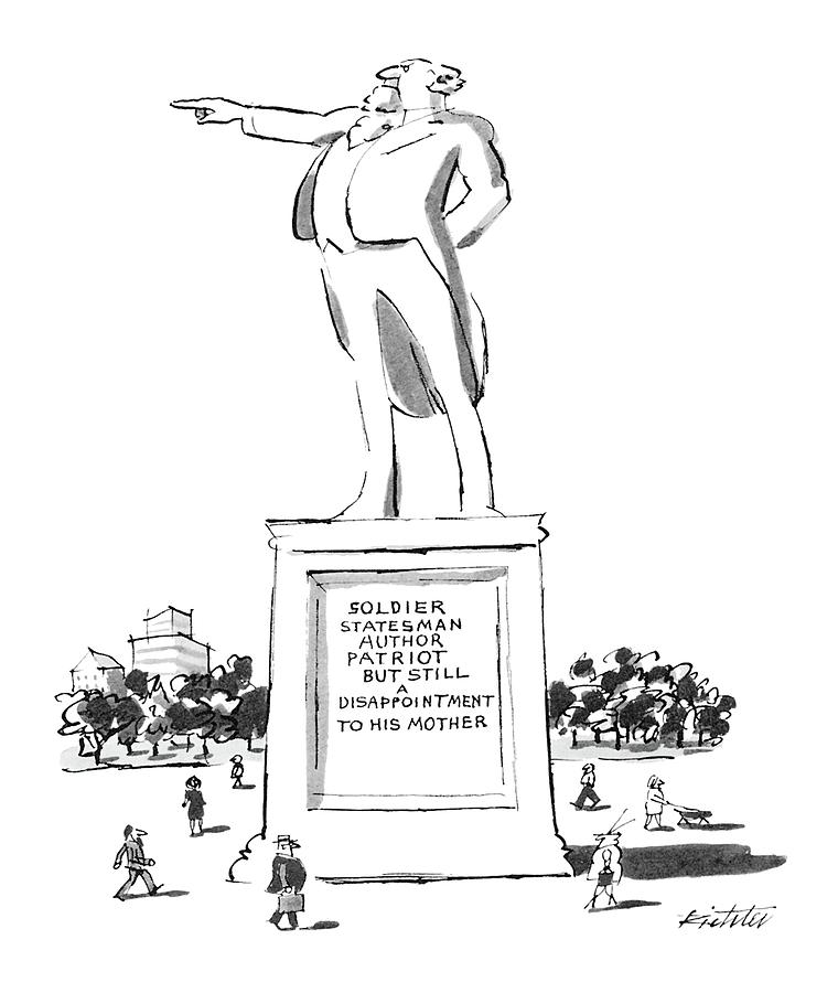 New Yorker May 7th, 1984 Drawing by Mischa Richter