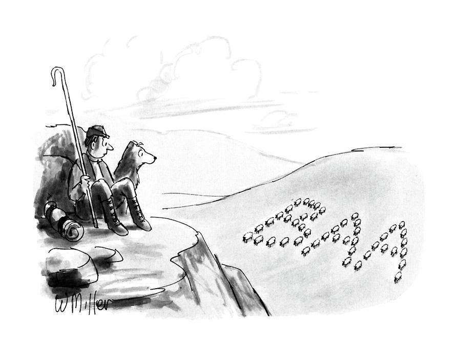 New Yorker May 7th, 1990 Drawing by Warren Miller