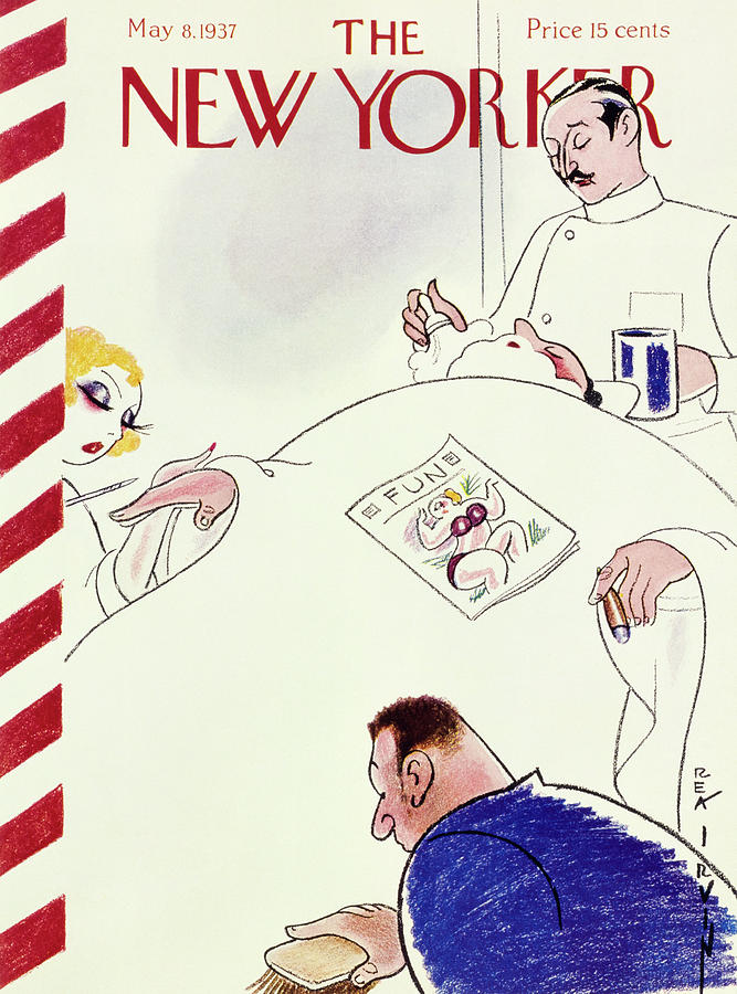 New Yorker May 8 1937 Painting by Rea Irvin