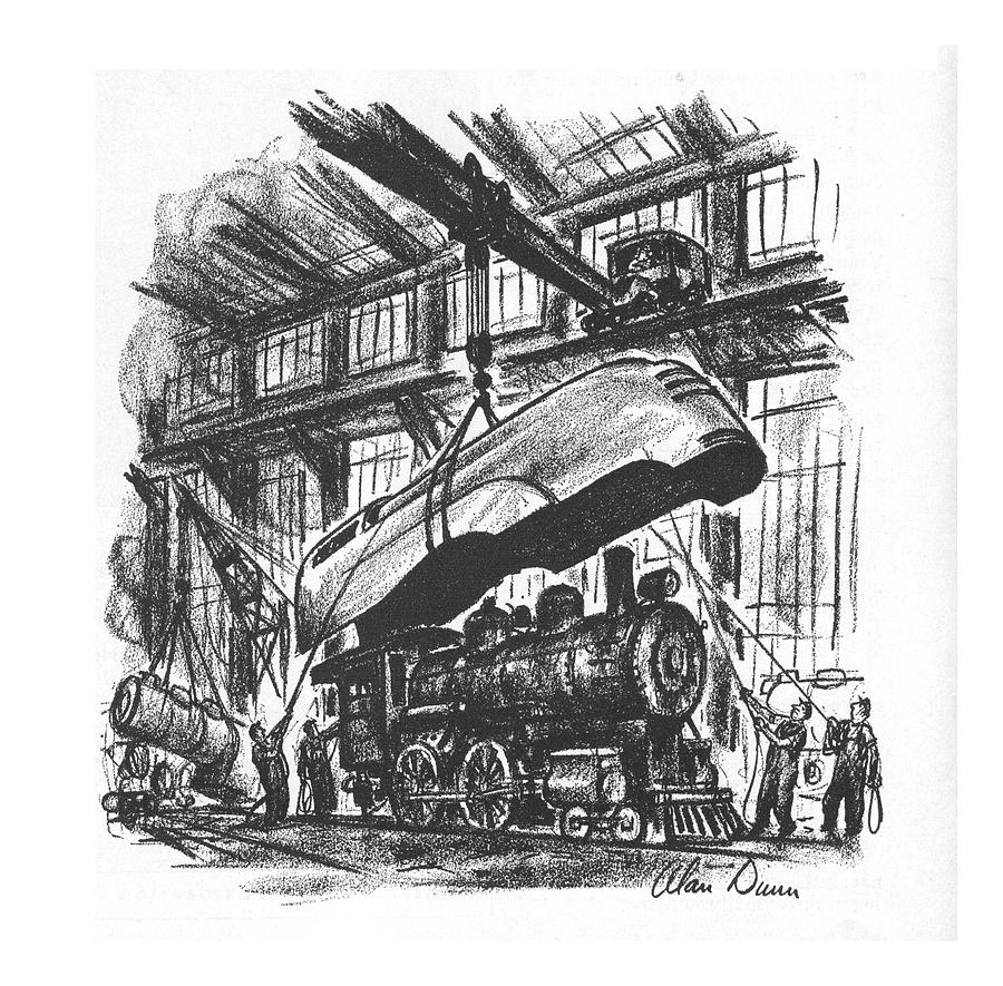 New Yorker May 8th, 1937 Drawing by Alan Dunn
