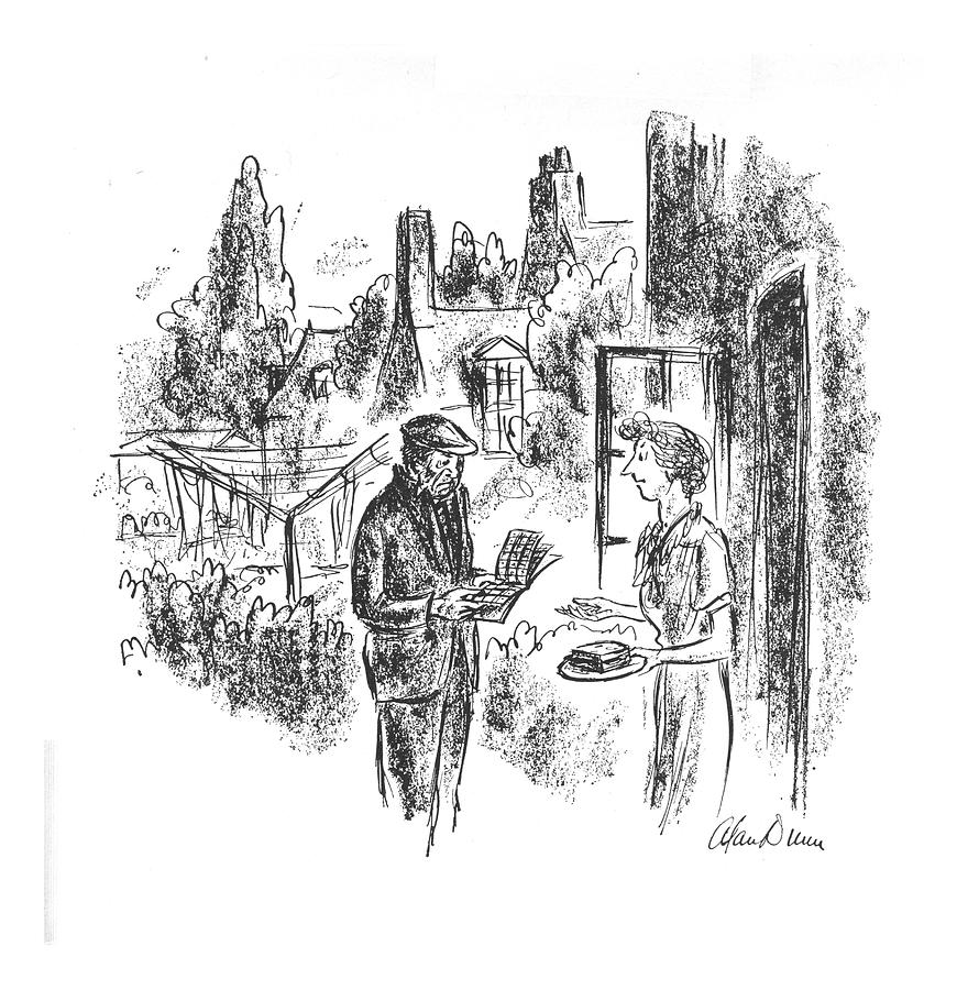 New Yorker May 8th, 1943 Drawing by Alan Dunn
