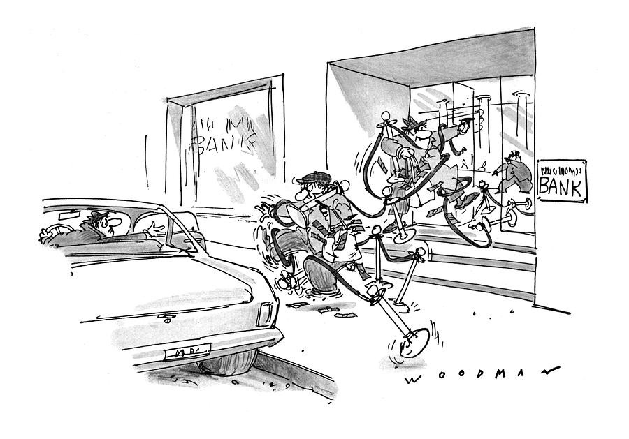 New Yorker May 8th, 1978 Drawing by Bill Woodman
