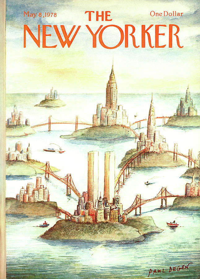 New Yorker May 8th, 1978 Painting by Paul Degen