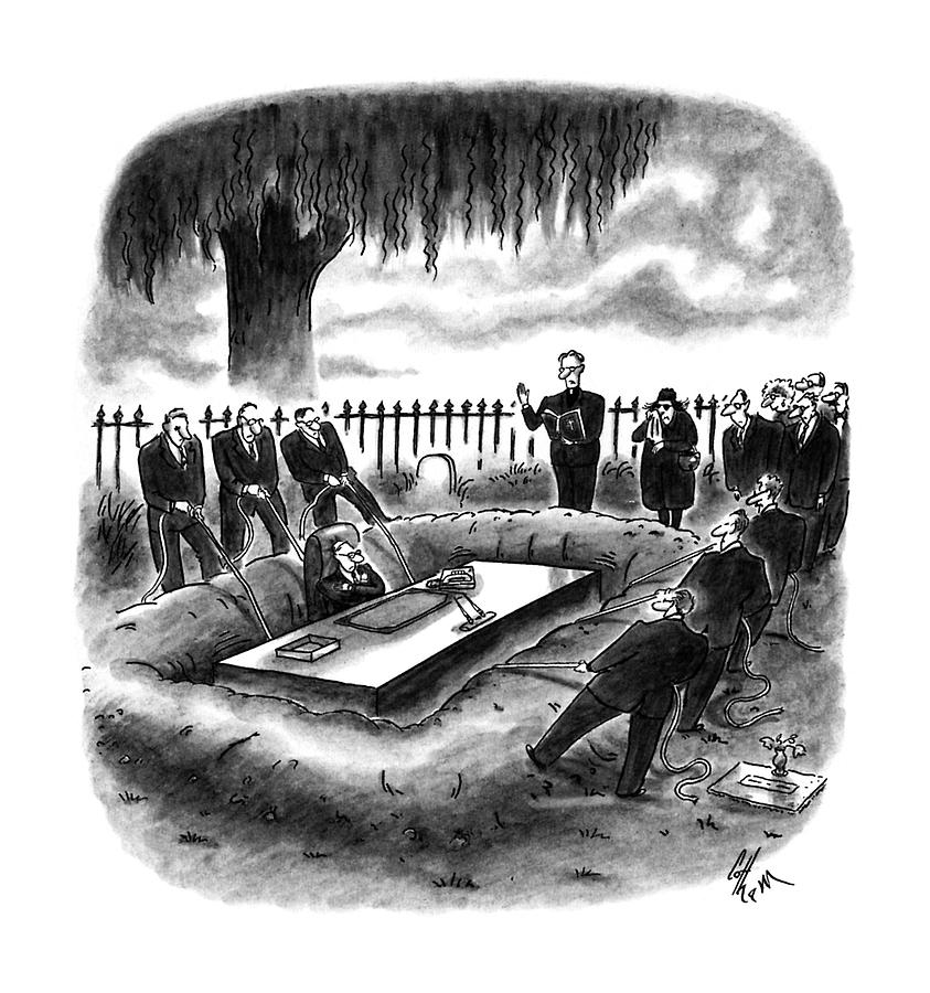 New Yorker May 8th, 1995 Drawing by Frank Cotham