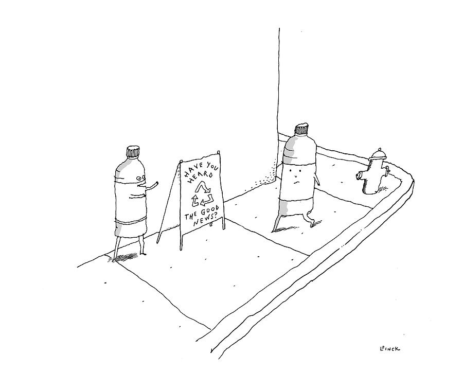 New Yorker May 8th, 2017 Drawing by Liana Finck