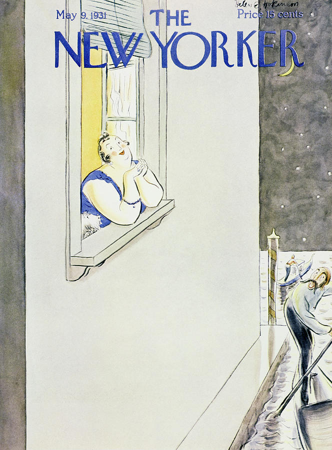 New Yorker May 9 1931 Painting by Helene E Hokinson
