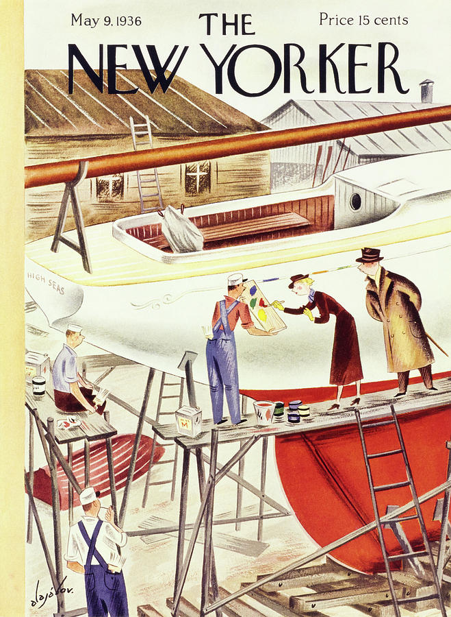 New Yorker May 9 1936 Painting by Constantin Alajalov