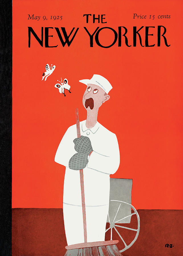 New Yorker May 9th, 1925 Painting by Rea Irvin