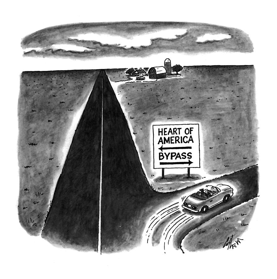 New Yorker May 9th, 1994 Drawing by Frank Cotham