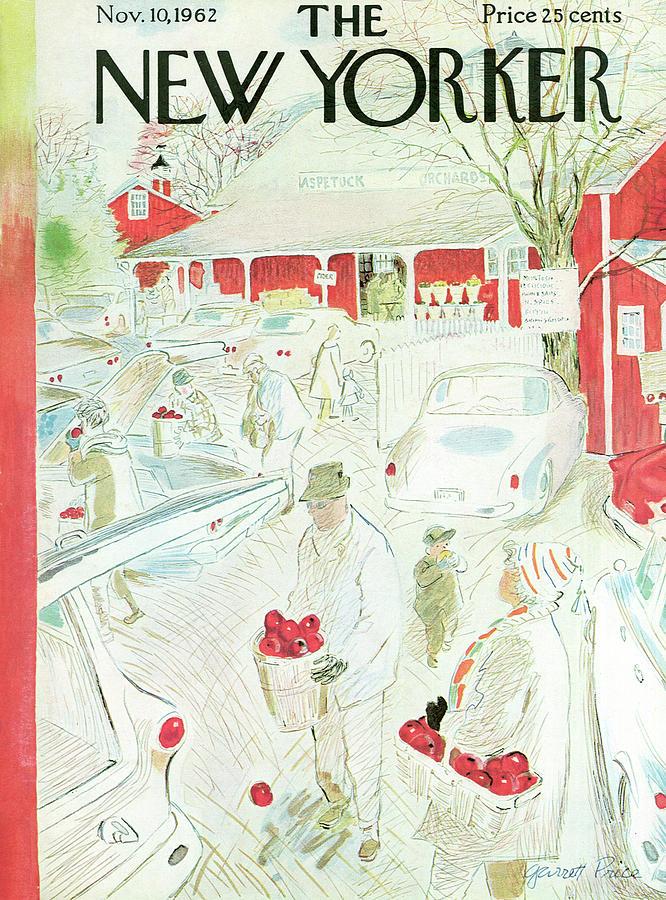 New Yorker November 10th, 1962 Painting by Garrett Price