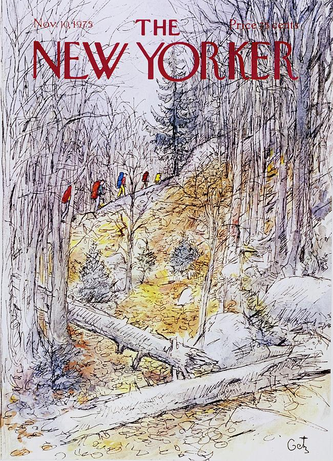 New Yorker November 10th 1975 Painting by Arthur Getz