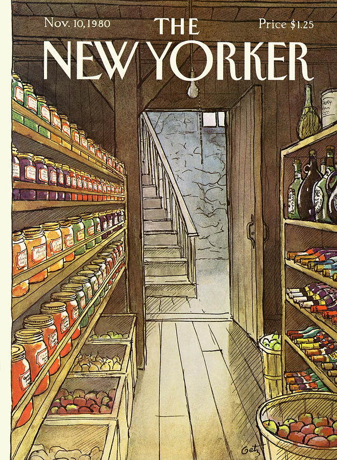 New Yorker November 10th, 1980 Painting by Arthur Getz