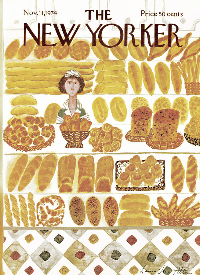 New Yorker November 11th, 1974 Painting by Laura Jean Allen