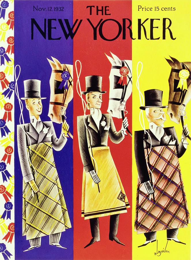 New Yorker November 12 1932 Painting by Constantin Alajalov