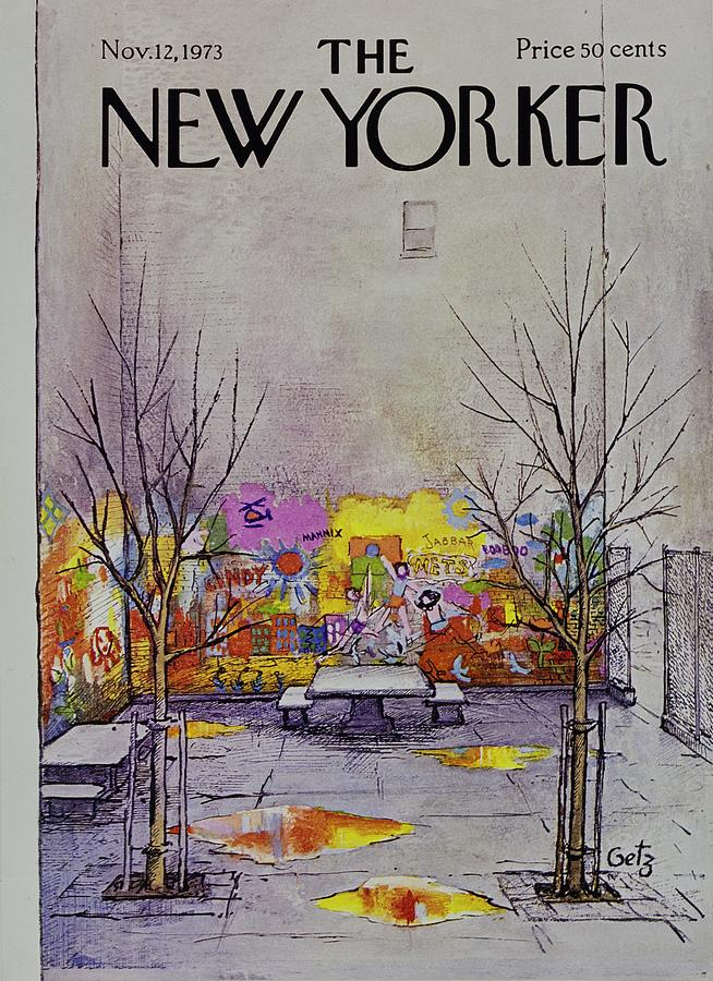 New Yorker November 12th 1973 Painting by Arthur Getz