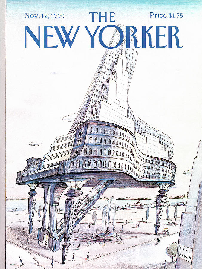 New Yorker November 12th, 1990 Painting by Paul Degen