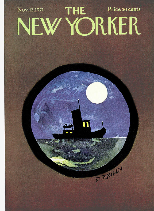 New Yorker November 13th, 1971 Painting by Donald Reilly