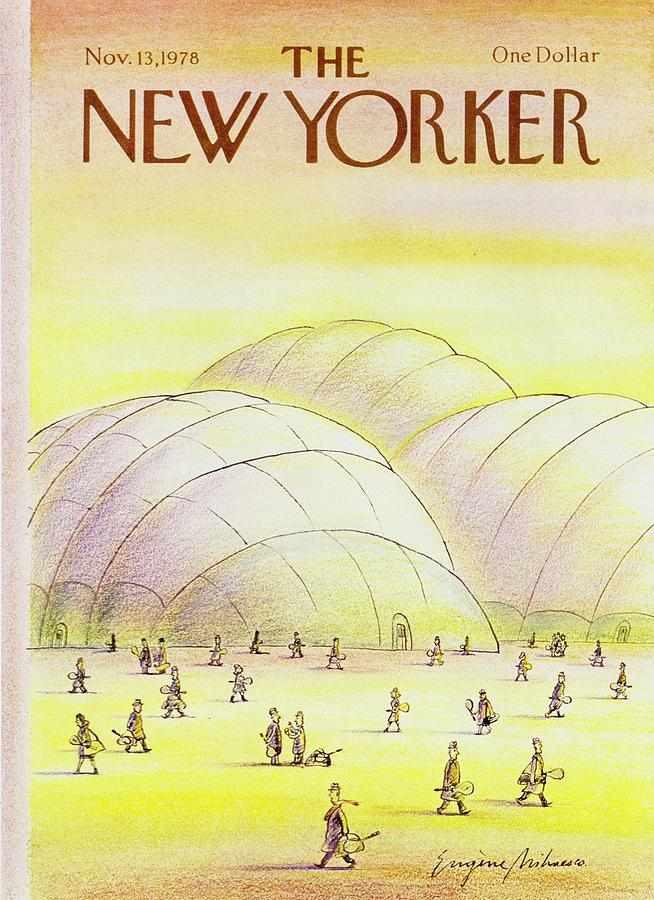 New Yorker November 13th 1978 Painting by Eugene Mihaesco