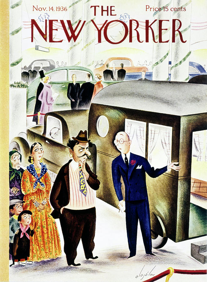 New Yorker November 14 1936 Painting by Constantin Alajalov