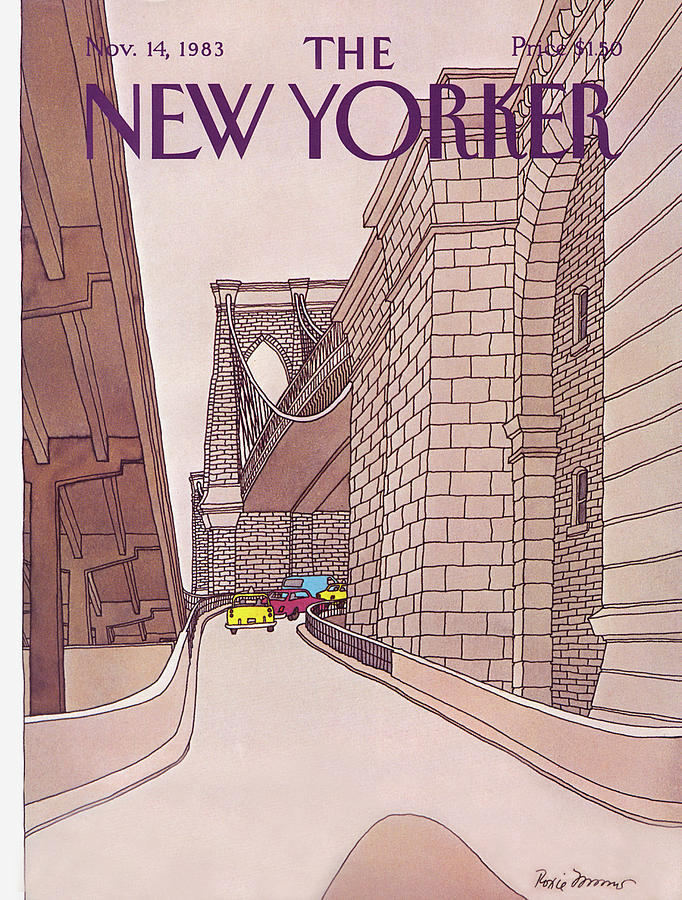 New Yorker November 14th, 1983 Painting by Roxie Munro