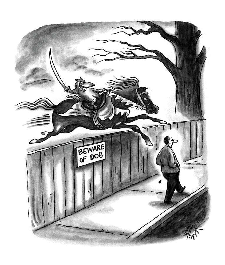 New Yorker November 14th, 1994 Drawing by Frank Cotham