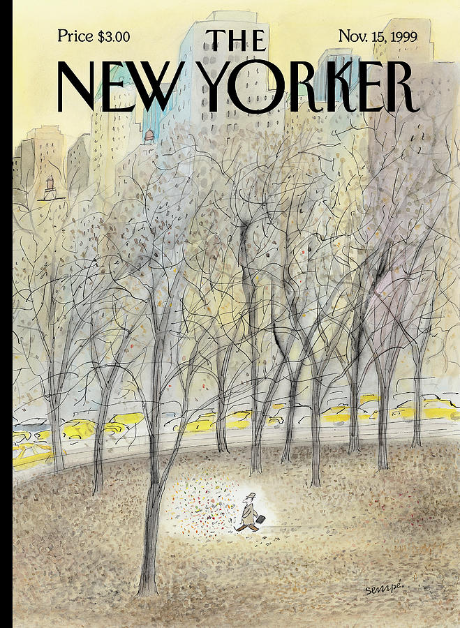 New Yorker November 15th, 1999 Painting by Jean-Jacques Sempe