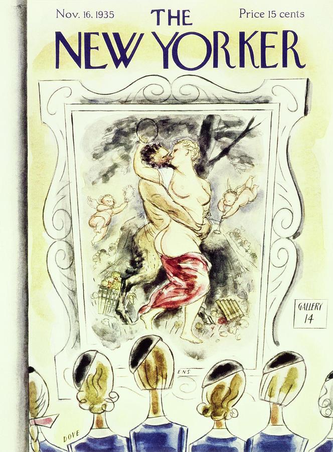 New Yorker November 16 1935 Painting by Leonard Dove