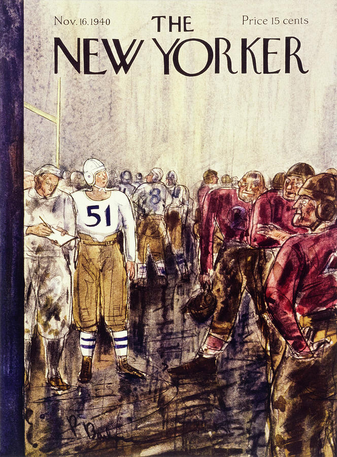 New Yorker November 16 1940 Painting by Perry Barlow