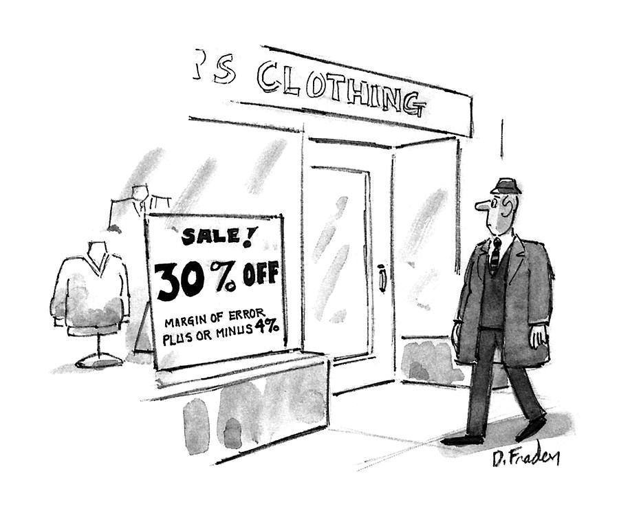 New Yorker November 16th, 1992 Drawing by Dana Fradon