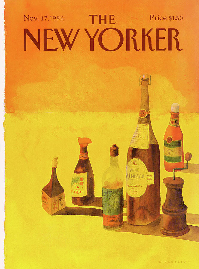 New Yorker November 17th, 1986 Painting by Abel Quezada