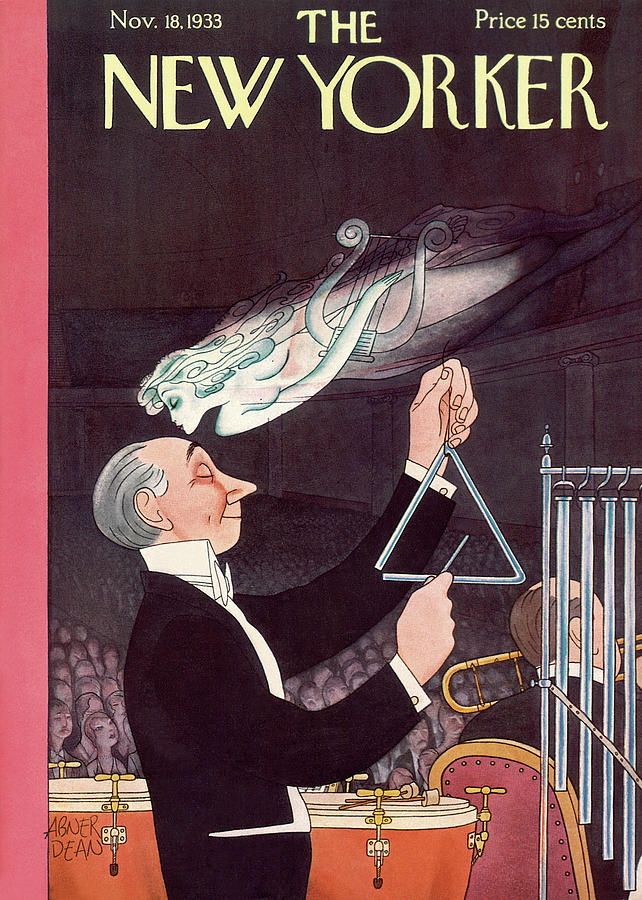 New Yorker November 18th, 1933 Painting by Abner Dean