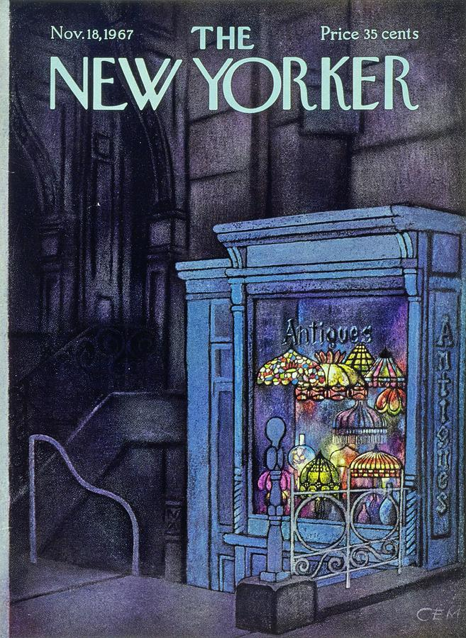 New Yorker November 18th 1967 Painting by Charles E Martin