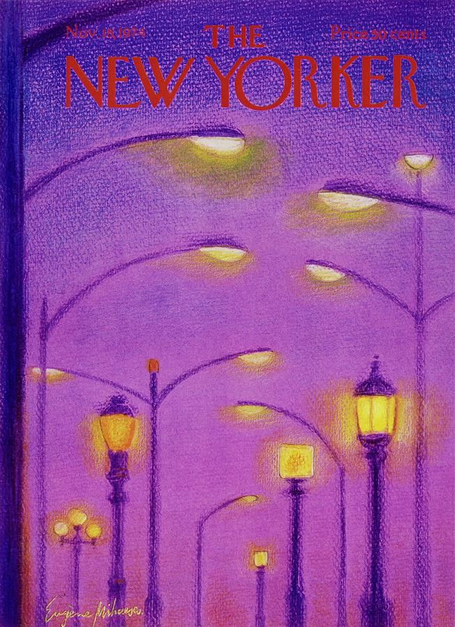 New Yorker November 18th 1974 Painting by Eugene Mihaesco