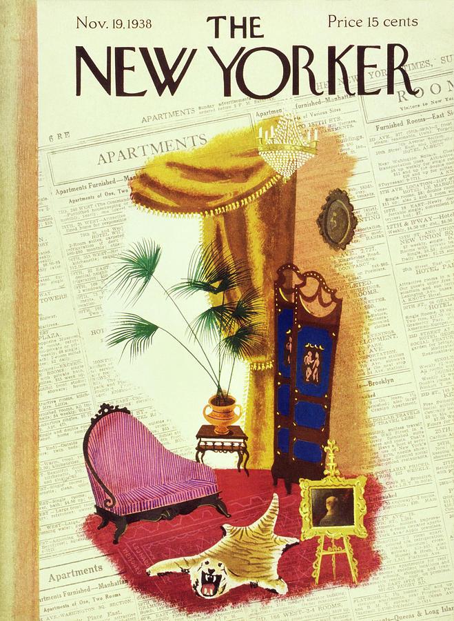 New Yorker November 19 1938 Painting by Leonard Weisgard
