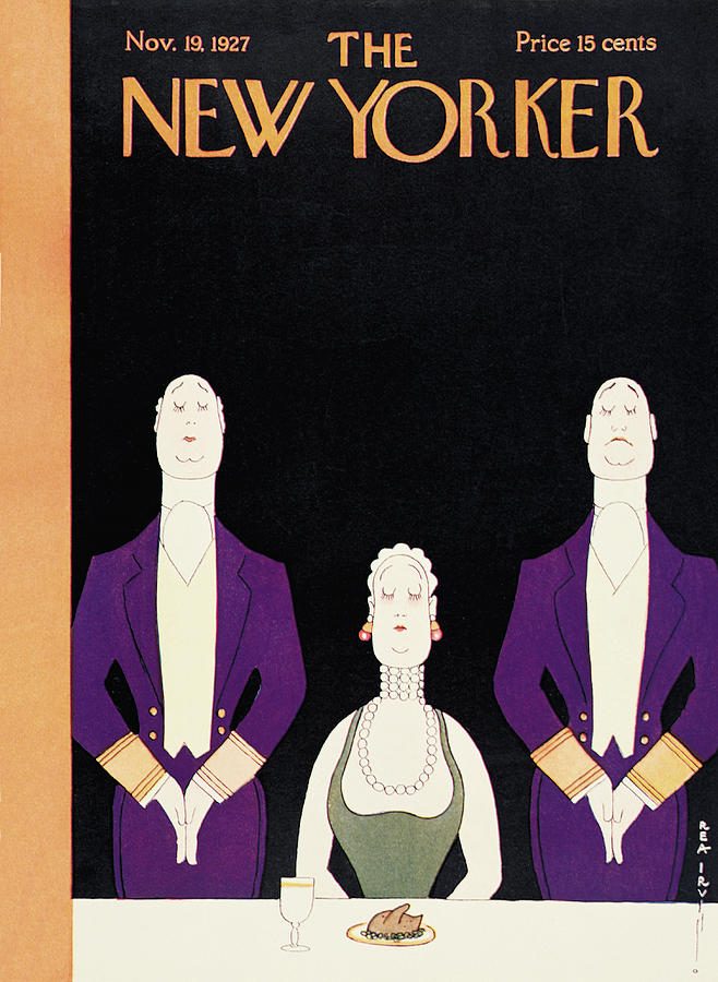 New Yorker November 19th, 1927 Painting by Rea Irvin