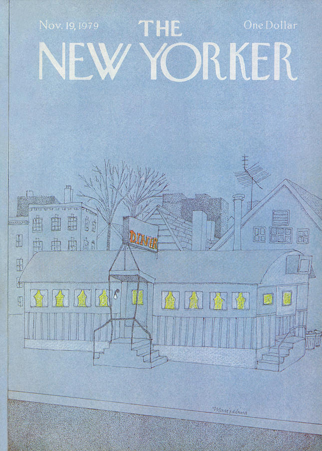 New Yorker November 19th, 1979 Painting by Marisabina Russo