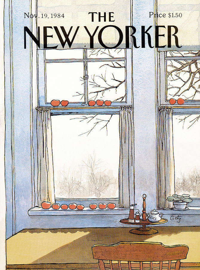 New Yorker November 19th, 1984 Painting by Arthur Getz