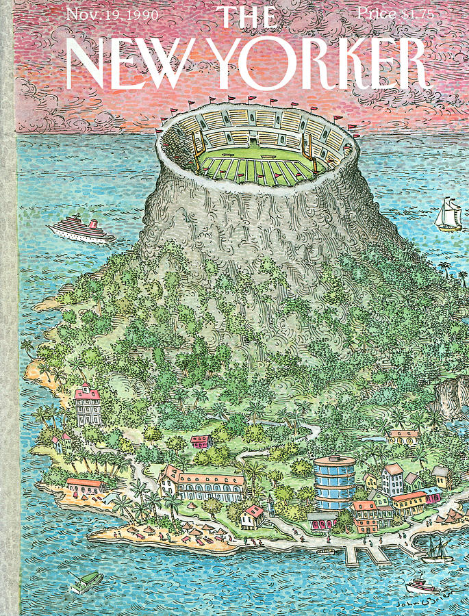 New Yorker November 19th, 1990 Painting by John OBrien