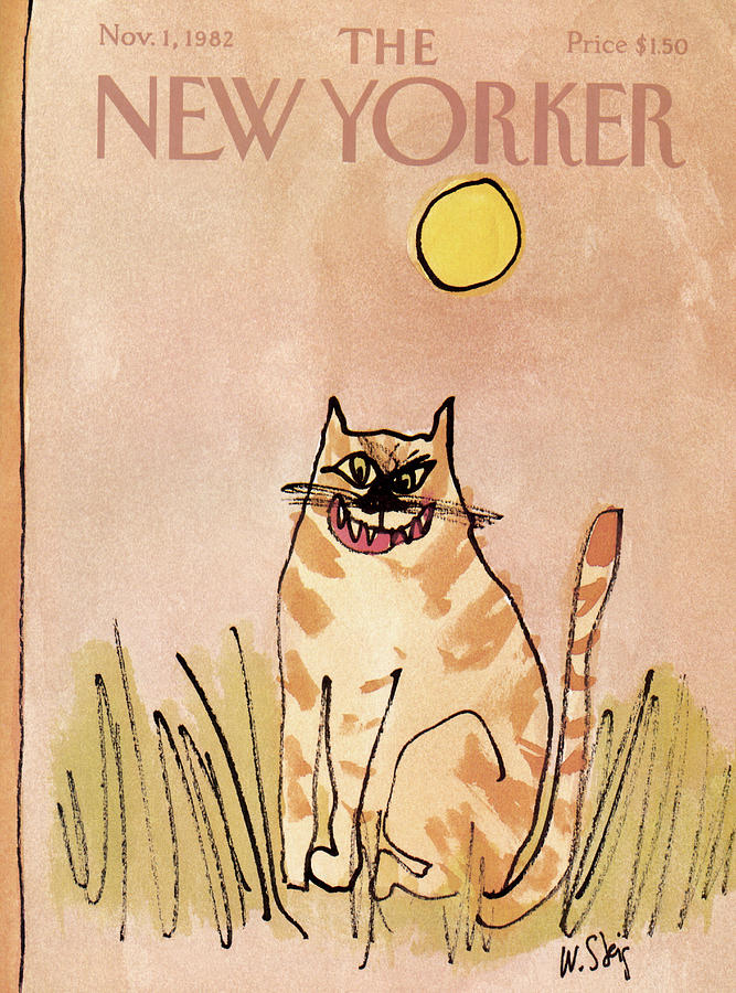 New Yorker November 1st, 1982 Painting by William Steig