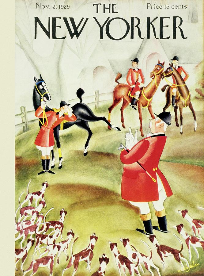 New Yorker November 2 1929 Painting by Constantin Alajalov