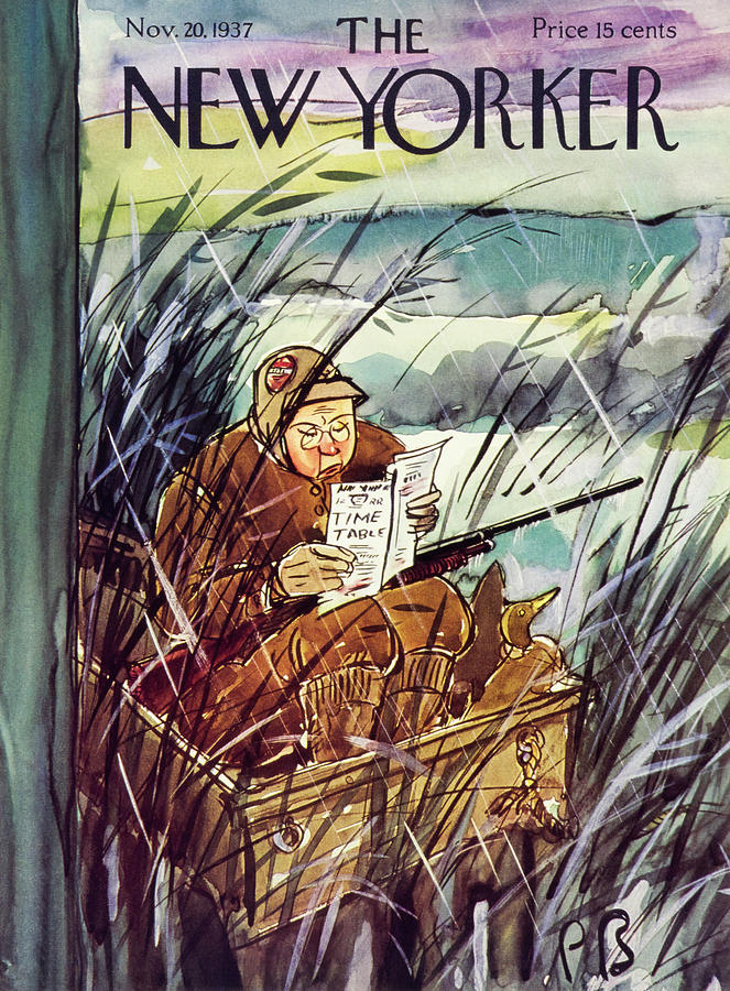 New Yorker November 20 1937 Painting by Perry Barlow