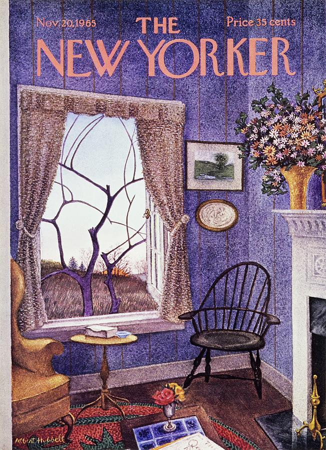 New Yorker November 20th 1965 Painting by Albert Hubbell
