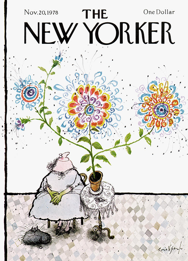 New Yorker November 20th, 1978 Painting by Ronald Searle