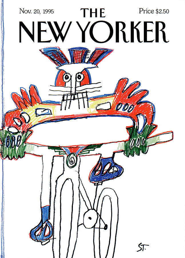 New Yorker November 20th, 1995 Painting by Saul Steinberg