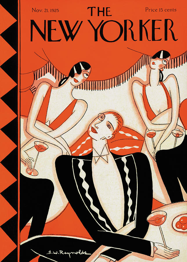 New Yorker November 21st, 1925 Painting by Stanley W Reynolds