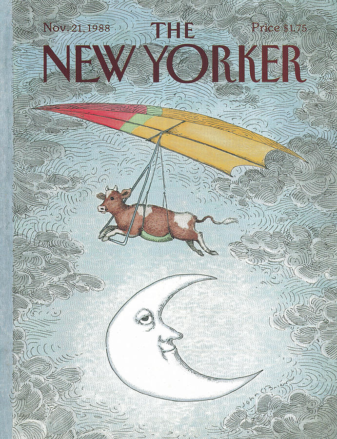 New Yorker November 21st, 1988 Painting by John OBrien
