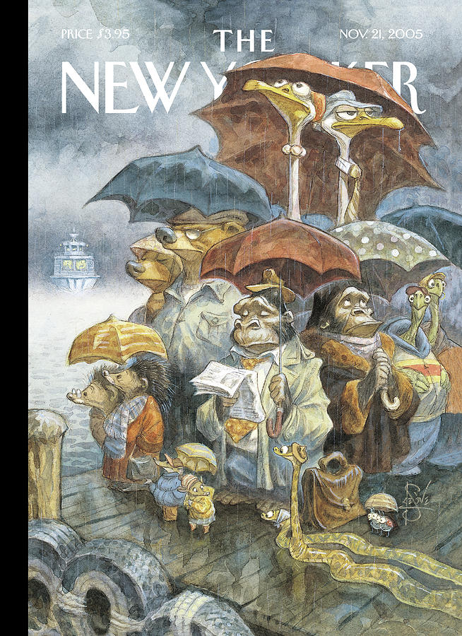 New Yorker November 21st, 2005 Painting by Peter de Seve
