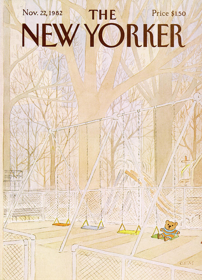 New Yorker November 22nd, 1982 Painting by Charles E Martin