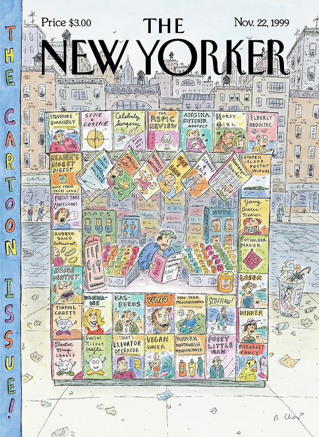 New Yorker November 22nd, 1999 Painting by Roz Chast