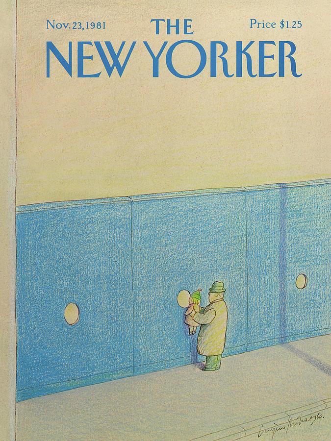 New Yorker November 23rd, 1981 Painting by Eugene Mihaesco